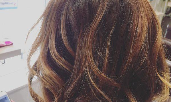 外国人巻き髪